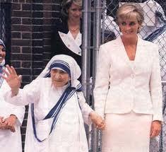 Princess Diana, Mother Teresa