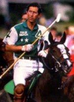 Princess Charles playing polo