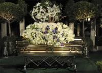 Michael Jackson Funeral Casket
