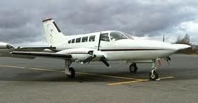 Aaliyah Cessna 403B Aircraft