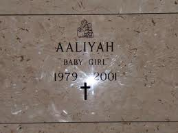 Aaliyah Baby Girl Memorial Stone