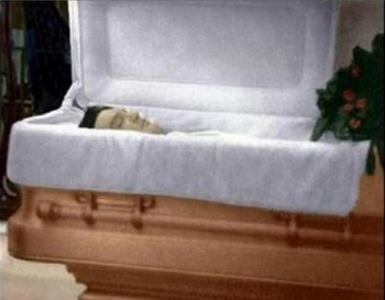 Elvis Presley Coffin