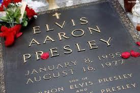 Elvis Presley Tombstone