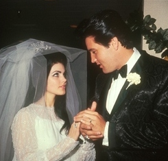 Elvis Presley Wedding Photo