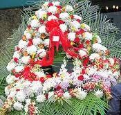 John Gotti Funeral Flowers Heart