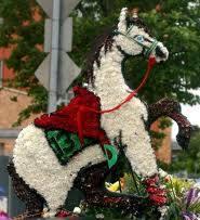 John Gotti Funeral Flowers Horse