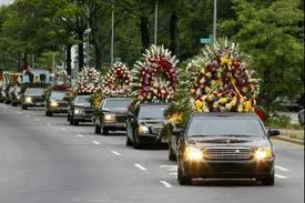 John Gotti Funeral Motorcade