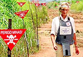 Princess Diana campaign against landmines