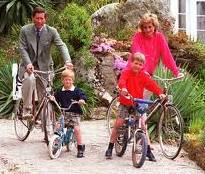Princess Diana and Family