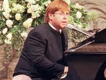 Princess Diana Funeral - Elton John