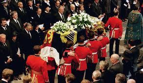 Princess Diana Funeral Service